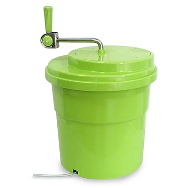 Eurodib Plastic Salad Spinner, 2.5 Gallons