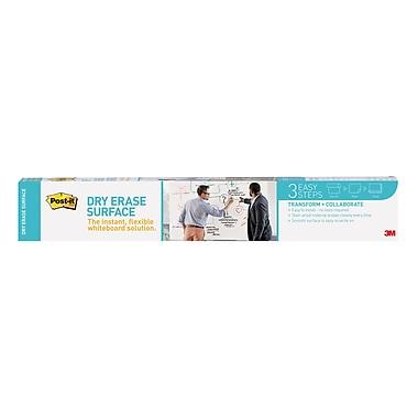 Post-it® Dry Erase Surface, 3' x 2', White