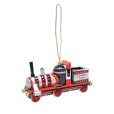 Alexander Taron Tin Locomotive Ornament