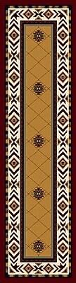 Milliken Signature Shiba Garnet Area Rug; Square 7'7''