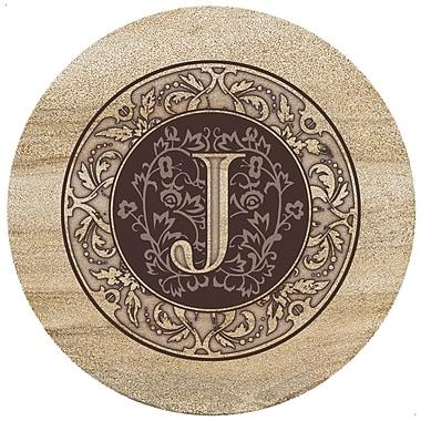 Thirstystone Monogrammed Trivet; J