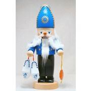PinnaclePeak Steinbach Signed Chubby Dutch Santa Sinterklaas German Christmas Nutcracker