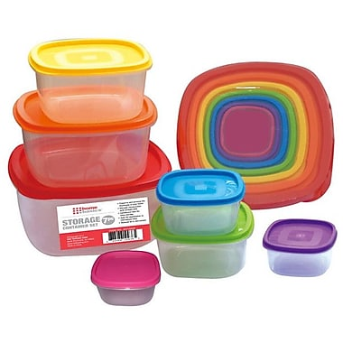 Home Basics 7 Container Food Storage Set