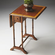 Butler Masterpiece Console Table; Olive Ash Burl