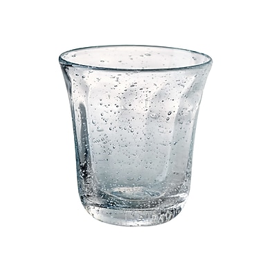 Artland Savannah Bubble DOF Glass (Set of 4); Clear