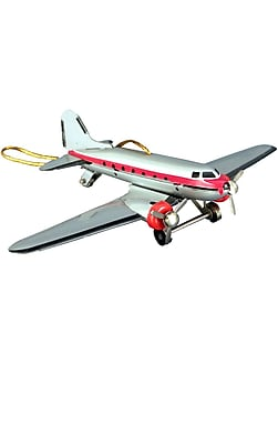Alexander Taron Collectible DC-3 Airplane Tin Ornament