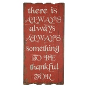 Cheungs There is Always Something To Be Thankful For Wall D cor