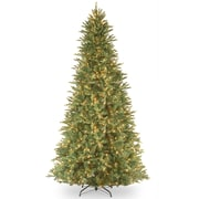 National Tree Co. Tiffany Fir 12' Green Artificial Christmas Tree w/ 1200 Clear Lights and Stand