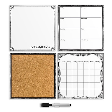 Wall Pops Dry Erase 4-Piece Organization Kits