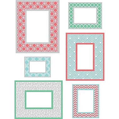 Wall Pops Wall Art Kit, Geo Colour Frames, Small