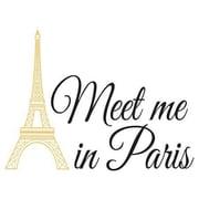 Wall Pops Wall Words, Meet Me In Paris
