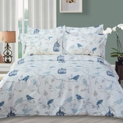 Highland Feather Bird Duvet Cover Set