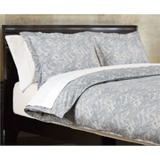 Highland Feather Grey Paisley Duvet Cover Set