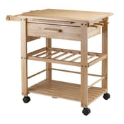 Winsome Finland Kitchen Cart, Natural (83644)