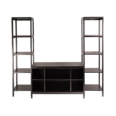 Winsome Hailey 3-Piece TV Stand Shelf Set