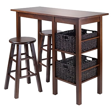 Winsome Egan 5-Piece Table with 2 - 24