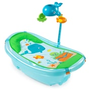 Summer Infant Ocean Buddies Newborn to Toddler Baby Tub with Toybar