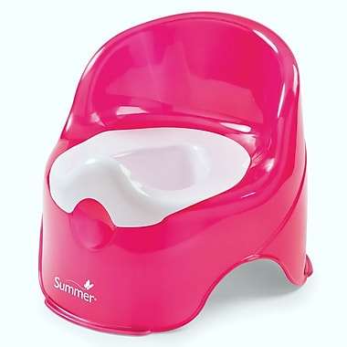 Summer Infant – Petit pot Lil Loo Potty, framboise