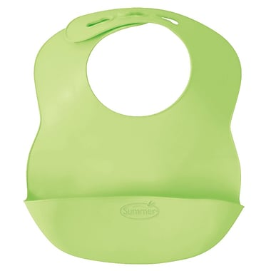Summer Infant Bibbity® Rinse & Roll Bib, Green