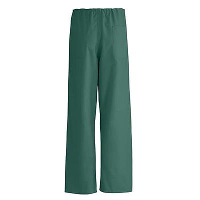 Medline AngelStat Unisex 2XL Reversible Drawstring Scrub Pants, Hunter Green (600NHGXXL-CA)