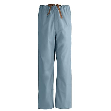Medline Unisex Small Reversible Scrub Pants, Misty Green (649MZSS)