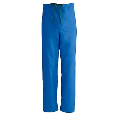 Medline PerforMAX Unisex Medium Reversible Scrub Pants, Royal Blue (800JRLM-CA)