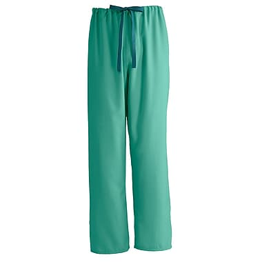 Medline PerforMAX Unisex 2XL Reversible Scrub Pants, Jade (800NTJXXL-CA)