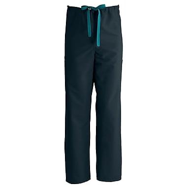 Medline ComfortEase Unisex 2XL Cargo Scrub Pants, Black (950DKWXXL-CM)