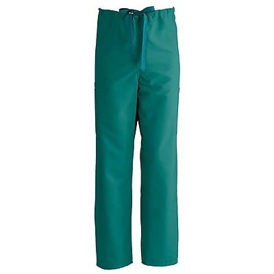 Medline ComfortEase Unisex XS Cargo Scrub Pants, Evergreen (950JEGXS-CM)