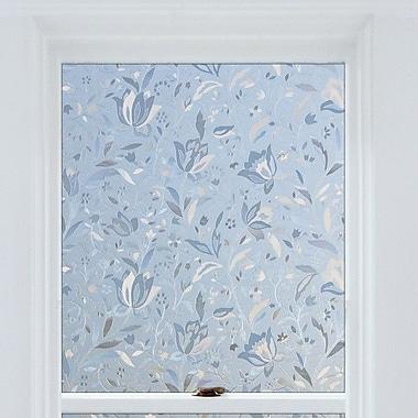 Brewster Home Fashions Window Decor Floral Window Film