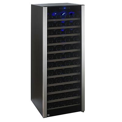 Wine Enthusiast Companies 80 Bottle Evolution Single Zone Freestanding Wine Cooler