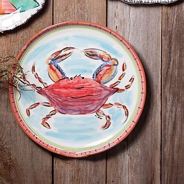 Abigails Napoli Round Crab Platter