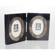 Abigails Serengeti Double Horn Picture Frame