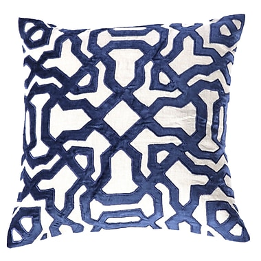 Filling Spaces Throw Pillow