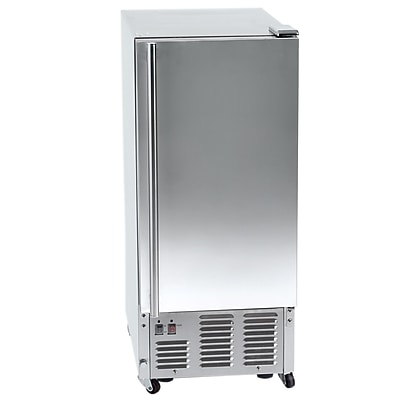 Orien 15'' W 44 lb. Daily Production Built-In Ice Maker