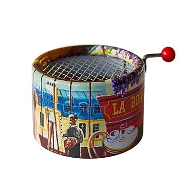PML – Boîte à musique avec manivelle La bohème de Charles Aznavour BPM126