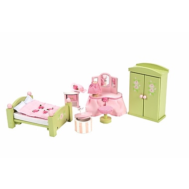Le Toy Van Daisylane Master Bedroom Deluxe Dollhouse Furniture Set