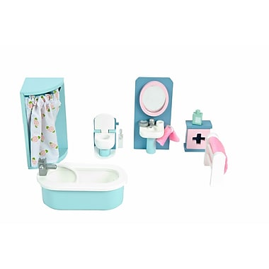 Le Toy Van Daisylane Bathroom Deluxe Dollhouse Furniture Set