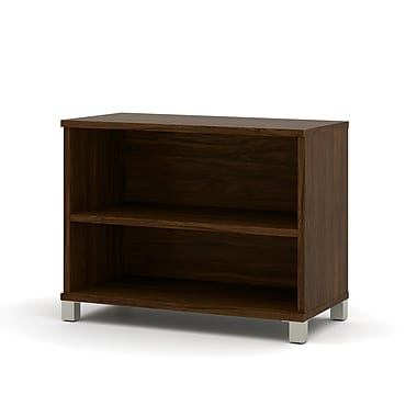 Pro-Linea 2-Shelf Bookcase, Oak Barrel
