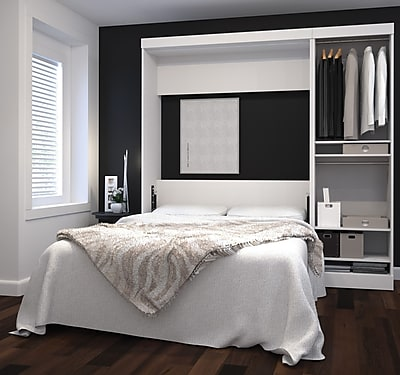 Nebula by Bestar Bedroom Collection, White