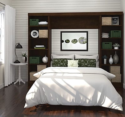 Pur by Bestar Bedroom Collection, Chocolate