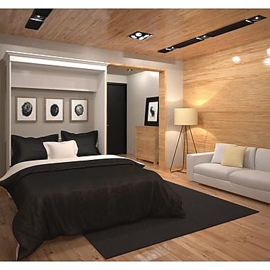 Versatile par Bestar – Grand lit mural 70 po, fini blanc