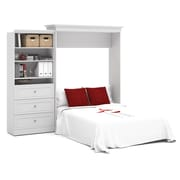 Versatile by Bestar 101'' Queen Wall Bed Kit, White