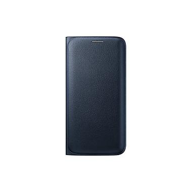 Samsung GS6 Edge Flip Wallet, Black