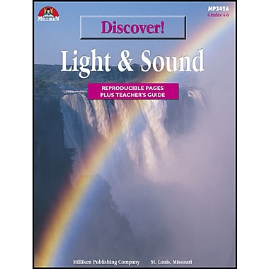 eBook: Discover! Light and Sound, Grades 4-6 (PDF version, 1-User Download), ISBN (9780787781514