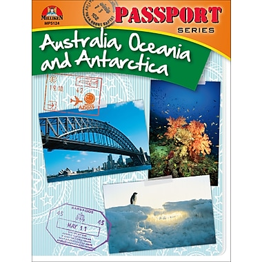 eBook: Passport Series: Australia, Oceania and Antarctica, Grades 5-9 (PDF version, 1-User Download), ISBN 9780787787134
