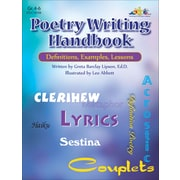 eBook: Poetry Writing Handbook, Grades 4-6 (PDF version, 1-User Download), ISBN 9780787784522