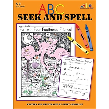 eBook: ABC Seek and Spell, Grades K-3 (PDF version, 1-User Download), ISBN 9780787786786