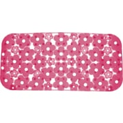 Gedy by Nameeks Margherita Rectangular Shower Mat; Fuchsia