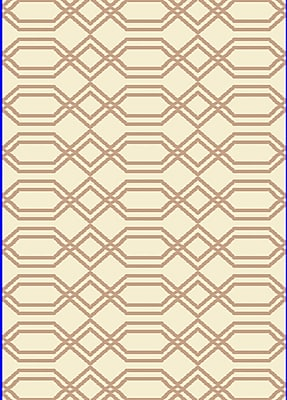 Dynamic Rugs Passion White/Beige Rug; Rectangle 7'10'' x 10'10''